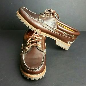 TIMBERLAND MEN'S LEATHER SHOES